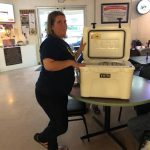 Yeti Cooler Winner at O'Fallon VFW